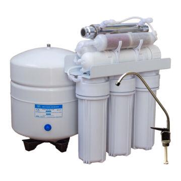 Konyhai víztisztító (RO) visszasózó patron + UV lámpával