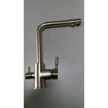 Konyhai csaptelep víztisztítóhoz, 3-utas,DESIGN- MATT