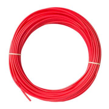 """RO víztisztító cső, piros 1/4"""""""