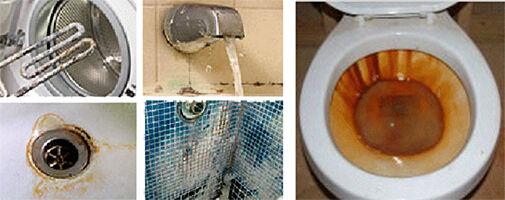 kútvíz szennyezőanyagok vízkő