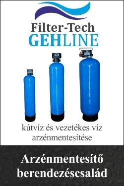 kútvíz és vezetékes víz azénmentesítése