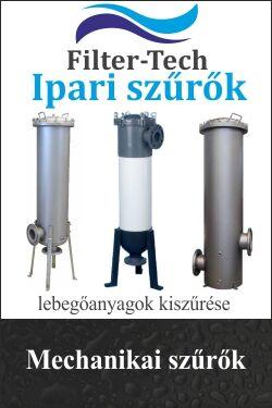 lebegőanyagok szűrése, mechanikai szűrők