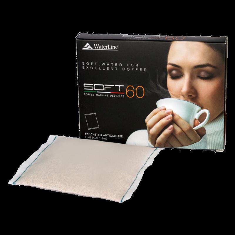 SOFT60 vízlágyító párna kávégépekhez, dobozos