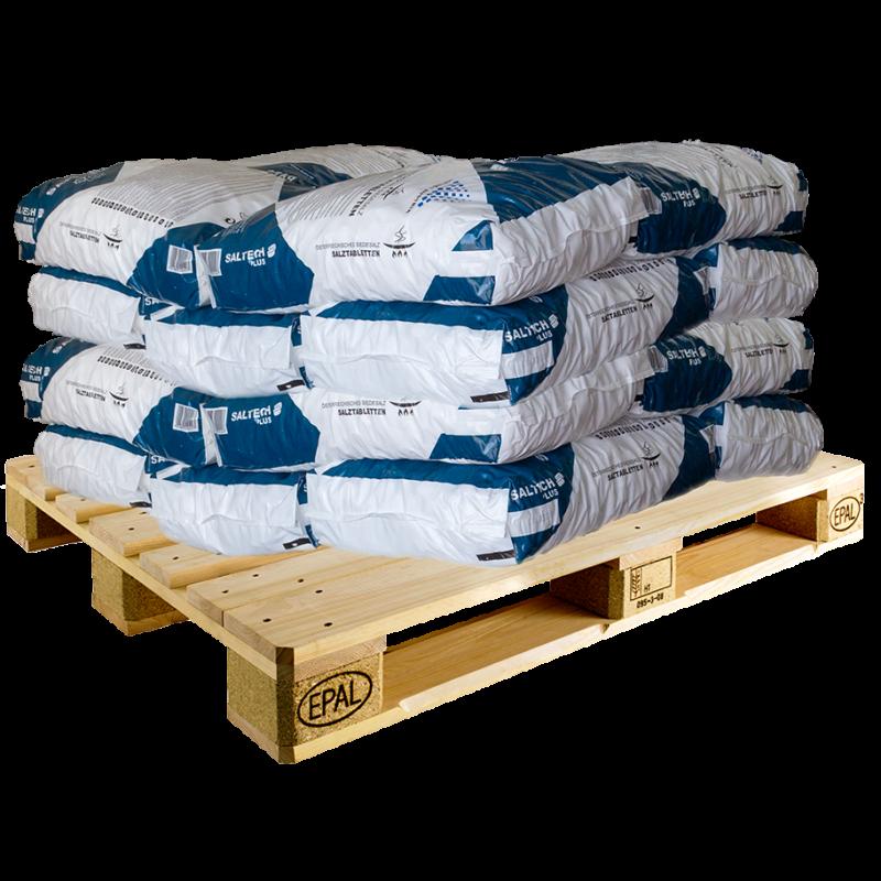 Regeneráló sótabletta 20 zsák (500 kg) - raklapos szállítással